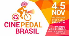 4 e 5 de novembro - CINE PEDAL BRASIL