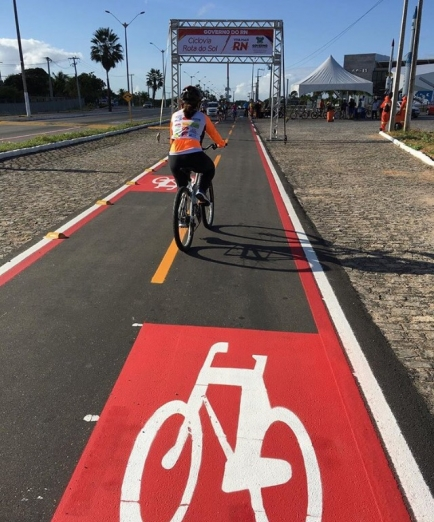RIO GRANDE DO NORTE INAUGURA CICLOVIA ROTA DO SOL